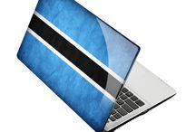 Natioanality Flags Skins and covers for Laptop / Be a proud citizen of your country. flaunt your country symbol through your laptops skins.