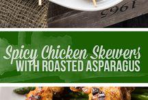 Kyckling spett mm