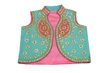 Ethnic Fashion / Magnificent jackets hand crafted by niche craftsmen from finest cloth. These jackets have been adorned with intricate zardozi, gota patti, dori marodi, sequin, pearl and resham work.