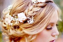 Wedding hair, make-up and accessories