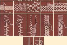 Needle lace / Lace examples and patterns