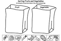 Preschool fruits and veg