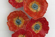 ceramika - kwiaty