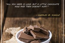 Chocolate Quotes / Beautiful sayings, quotes and other statements about chocolates. From the funny to the profound we have it all!