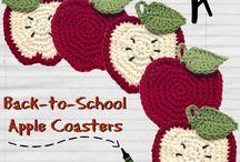 かぎ編み コースター