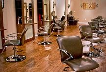 Southern Salons / Great ideas for salons in the south or salons looking for a rustic and warm look.