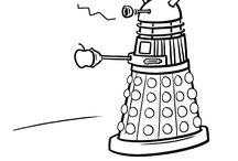 Doctor Who / Wibbly-wobbly, timey wimey... Stuff.