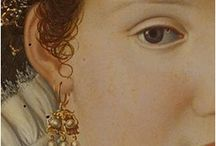 earrings in paintings / Earrings in paintings ca. 1450 -1700