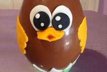Αυγά σοκολατενια