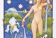 Tarot 17 - a estrela - the star / by Gabriela Simionato Klein