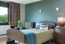 Senior Living Resident Rooms