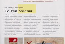 collection of articles about & reviews on Co van Assema / publications in brochures, magazines & newspapers.