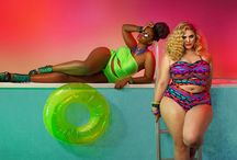 plus size full of colors