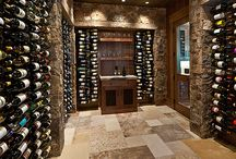 Traditional Home Wine Cellars / Metal wine racks play a starring role in traditional wine cellar design, too.