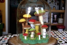 Mushrooms / by Cheyenne Wright Johnson