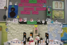 Winter (knutsel) ideeën  / Knutselen en je klas rond het thema winter