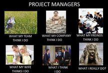 WORK: Project Management / by Irene van der Merwe