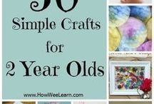 2 years old crafts
