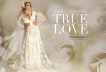 Plus Size Wedding Glamour / An inspirational collection of all vintage inspired wedding moods.
