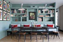 Banquettes salle à manger