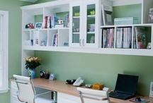 Girls' Study Space Design Ideas / by Juli Brown