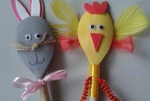 Wielkanoc / Prace plastyczne
