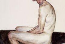 ARTE MODELO MASCULINO / Pinturas e fotos de arte do nu.