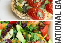 Healthy Game Day Recipes / Healthy alternatives to high-calorie, high-fat snacks and foods on Game Day.