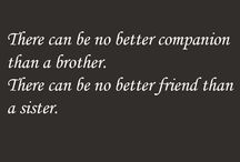 Brother and Sister QUotes / This board shows funny and bond between brother, sister and sibling quotes.