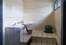 Sauna, bathroom, toilet