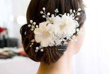 peinados y accesorios novia
