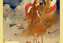 World War Two Propaganda / War posters Visual signs and Propaganda Movies / by Dragon Report