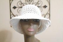 Háčkované klobouky, čepice / Ruční práce