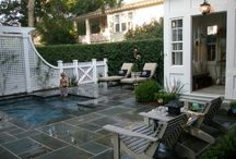 small pool ideas / by Shelly Holm