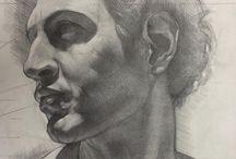 Рисование портретов,