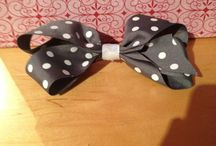 Hair bows / by Layla Goble