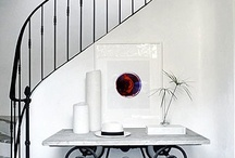 stairs / by White Bungalow