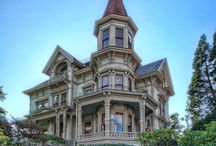 19th C. Architecture  / Beautiful homes & buildings built in the 1800s