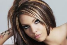 Hair Colours for winter with highlights