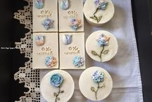 Natural soaps with soap flowers / Natural soaps www.naturnagyi.hupont.hu