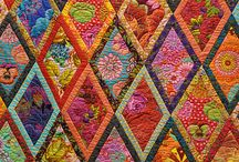 Eye Candy - Quilts / No tutorials, just beautiful #eyecandy in the form of #quilts. #MadeWithFabric #SewInLove / by Fabric.com