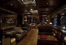 Bowling Alley and basement lounge