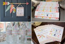 Bow and Arrow Party Inspiration