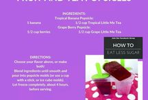 Recipes - Healthy Snacks & Treats / Snacking or Treats doesn't have to mean high fat & lots of sugar!