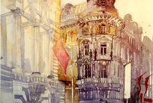 Buildings / by Glyn Overton