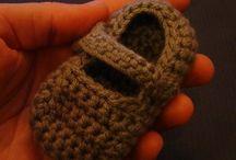CROCHET (slippers, socks, booties) / by Melissa Yerxa
