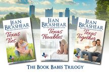 Book Babes Trilogy (Texas Heroes) / by Author Jean Brashear
