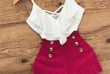 conjunto blusa y short corto