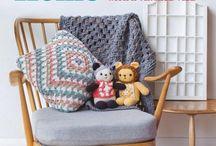 Granny Square Home - Crochet Book