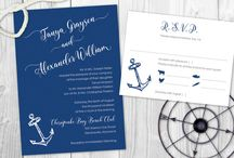 Nautical Inspired Wedding Stationery